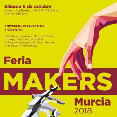 Cartel Maiker Faire Murcia 2018