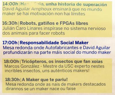 Autofabricantes en Maker Faire Galicia