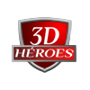 3D Heroes Logo