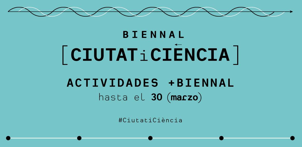 Cartel Bienal Ciudad y Ciencia