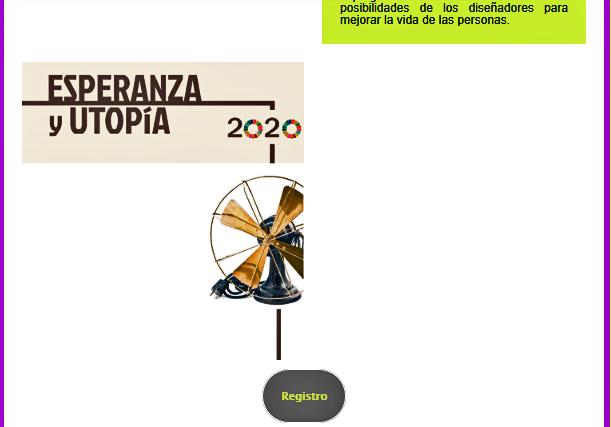 Cartel de la charla Esperanza y Utopía